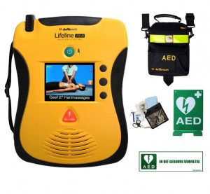 Defibtech Lifeline VIEW AED compleet pakket